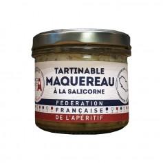 Tartinable de Maquereau à la Salicorne - FFA 100gr
