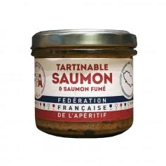Tartinable de Saumon et Saumon Fumé - FFA 100gr