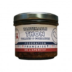 Tartinable de Thon aux Tomates et Coriandre - FFA 100gr