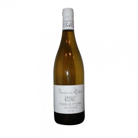 AOC Chablis 1er Cru Vaucaupin blanc - Domaine Baudouin Millet 2018