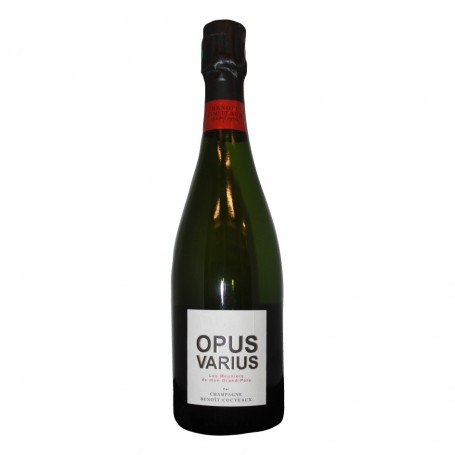 """Champagne AOP Opus Varius cuvée """"Les Meuniers de mon Grand-Père"""" 100% Chardonnay - Benoit Cocteaux"""
