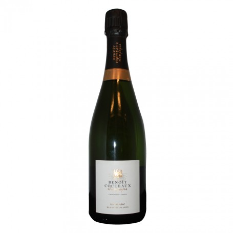 """Champagne AOP Opus Varius cuvée """"Or Blanc"""" 100% Chardonnay - Benoit Cocteaux"""