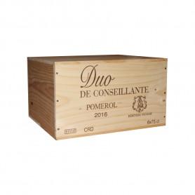 Duo de Conseillante Pomerol 2016 75cl (x6) - Coffret bois