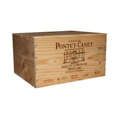 Château Pontet Canet Pauillac 2006 75cl (x6) - Coffret bois