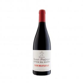 """Côtes du Rhône """"Beatus Ile"""" Rouge 2019 - Domaine Saint-Préfert 75cl"""