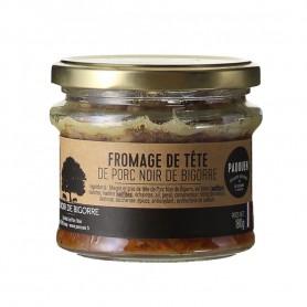Terrine Fromage de Tête Noir de Bigorre - Verrine 180gr