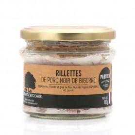 Terrine Rillette Noir de Bigorre - Verrine 180gr